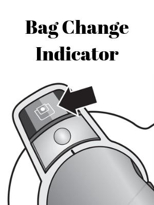 Bag Change Indicator